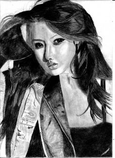 Hyuna Kim - Sketching by Sauri de Silva in sketchings at touchtalent