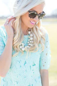 McKenna Bleu wearing shopjulianas.com! Love the MINT!