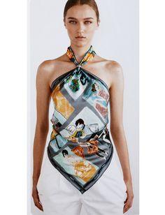 Hermes Scarves Tied Different Ways! #hermes #scarves #hermesscarves #colorful #fashion