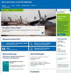 Max Frisch-Archiv erhält neue Website