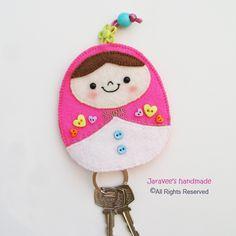 Pink Matryoshka Key Cover by Jaravee, via Flickr