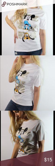 Disney t-shirt Cute disney Mickey Mouse t-shirt Tops Tees - Short Sleeve