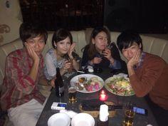 仲良し4人組で新宿のキリストンカフェ行ったなりー♡♡♡