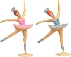 """Large Ballerina Cake Toppers - 5"""" tall -24 pcs BULK >> Huge discounts available : baking desserts recipes"""