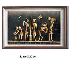 Crop Harvesting murals by www. Worli Painting, Ceramic Painting, Fabric Painting, Clay Wall Art, Mural Wall Art, Clay Art, African Paintings, India Art, Fantastic Art