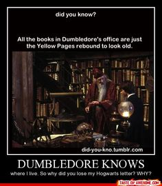 Dumbledore Knows All - Other - Boring Pics + Epic Captions = Taste of Awesome