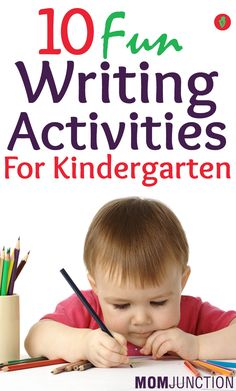 Top 10 Fun Writing Activities For Kindergarten: Children need different platforms to learn and write. You should not restrict your kids from writing on wall or door, as this is their first writing activity. You can hang a mini chalk board on the wall to avoid your wall getting dirty.Here are some interesting tips to improve your child's writing.