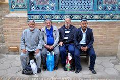Pilgrims having a rest at the Shah-i-Zinda Pilgrims, Rest, People, People Illustration