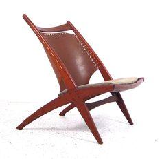 Frederik Kayser, Krysset Cross Chair  for Gustav Bahus, 1956.