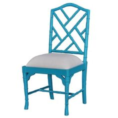 Option 2 Desk chair and chairs at aisle side of breakfast table See all colors available at chart!  Custom Chinese Chippendale Dining Chair Faux Bamboo chair