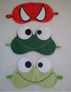 The best DIY projects & DIY ideas and tutorials: sewing, paper craft, DIY. Sewing Hacks, Sewing Crafts, Sewing Projects, Felt Crafts, Diy And Crafts, Diy Couture, Mask For Kids, Diy Mask, Sleep Mask