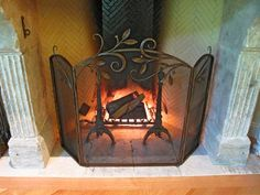 Shawn Lovell fuses new design ideas with the age-old craft of blacksmithing to create one-of-a-kind work. Window Bars, Blacksmithing, Hearth, Metal Working, Iron, Tools, Crafts, Beautiful, Ideas