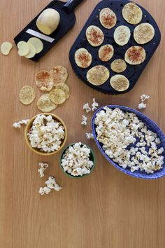 4 Minute Potato Chips and Popcorn Epicure Recipes, Yummy Recipes, Recipies, Snack Recipes, Snacks, Smoothie Drinks, Smoothies, Soirée Des Oscars, Yummy Eats