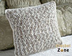 Free Crochet Pattern for Basic Throw Pillow