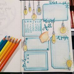 I love this bullet journal page!