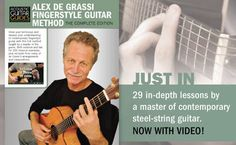 Alex De Grassi Complete Video Method, Acoustic Guitar Magazine