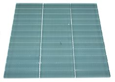 "loft turquoise polished 1"" x 4"" glass tiles - shop glass tiles at glasstilestore.com"