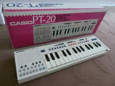 CASIO PT20 Vintage Analog Keyboard Drummachine mit OVP