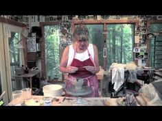 Pottery Video: Making a Darted Creamer  | SUZE LINDSAY.  Good for altered wheel thrown pouring vessel and pulling handles on the form.