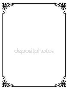 Proste rama ozdobny ozdobnych — Grafika wektorowa © 100ker #7200185