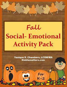 Social emotional activity pack with self-affirmations for kids.