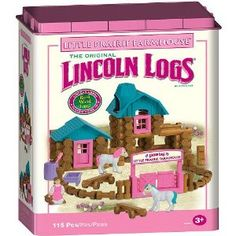 girly lincoln logs