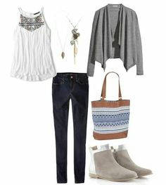 Perfect for a day out and about, but with different shoes.