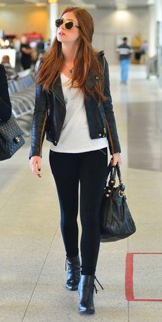 Marina Ruy Barbosa look aeroporto