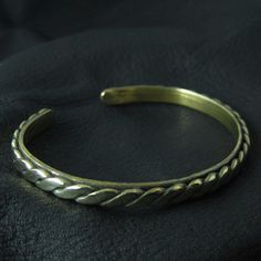 Bronze medieval bracelet by Sulik on Etsy