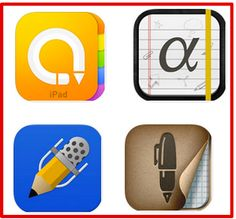 The Best 4 iPad Note Taking Apps for Students and Teachers #notetaking