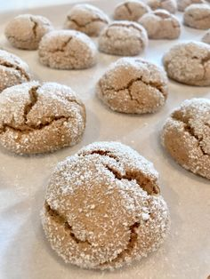 Two Point Soft Ginger Cookies - Pound Dropper Soft Ginger Cookies, Lemon Drop Cookies, Molasses Cookies, Weight Watcher Cookies, Weight Watchers Desserts, Ww Desserts, Dessert Recipes, Light Desserts, Purple Desserts
