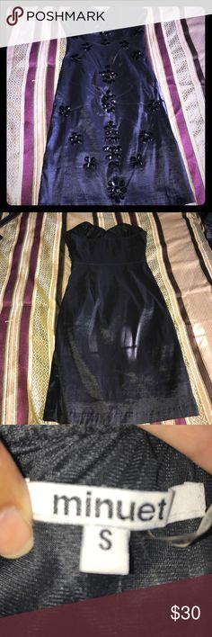 Mini black strapless dress Beautiful and elegant mini black strapless dress. Make an offer Minuet Petite Dresses Strapless