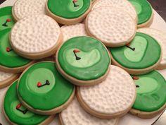 Gone Golfing Cookies by LouiesSweetTreats on Etsy, $24.00