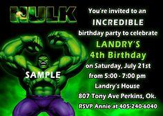 567a67921b7240e70c38a7515e335b83 hulk party superhero party hulk invitation, hulk birthday, incredible hulk birthday invites,Hulk Birthday Invitations