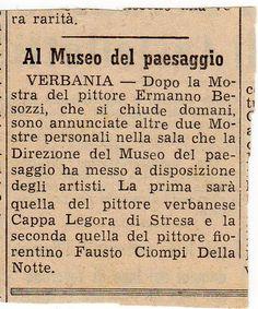 1955 Corriere dei Laghi, Intra