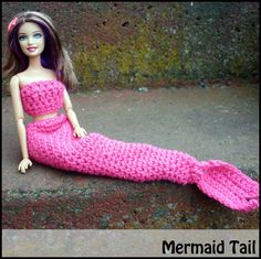 Mamma That Makes: Barbie Patterns, Mermaid outfit and lots more.