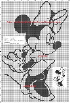 Disney Cross Stitch Patterns, Cross Stitch Kits, Cross Stitch Charts, Beading Patterns, Crochet Patterns, C2c Crochet Blanket, Fillet Crochet, Frozen Disney, Mickey Mouse Characters
