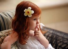 little redhead - Maui Photography by John Henry Ginger Kids, Ginger Babies, Red Hair Little Girl, Little Girls, Beautiful Red Hair, Beautiful Redhead, Beautiful Children, Beautiful Babies, Red Hair Don't Care