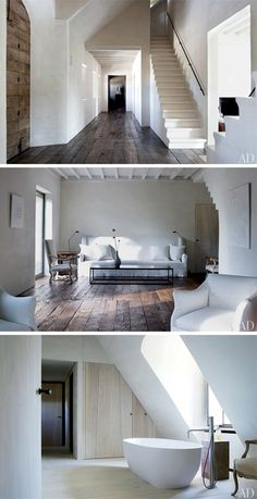 white goodness...beautiful floors