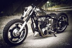 Harley-Davidson Sportster 883 custom line by Bull Cycles named APOC