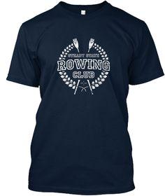 Vintage Rowing Club Laurel: Steady State Rowing Club Tee Shirt by WorkingWalrus Tees - Unique Tees, Apparel & Accessories. #tshirts