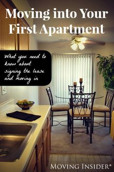 Signing your first lease is a huge step in your moving journey! Be sure to keep some of these tips in mind when moving into your first apartment.