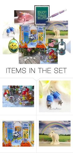 Enjoy Beautiful things in Life by mariannemerceria on Polyvore featuring art, polyvorestyle, integrityTT and EtsySpecialT