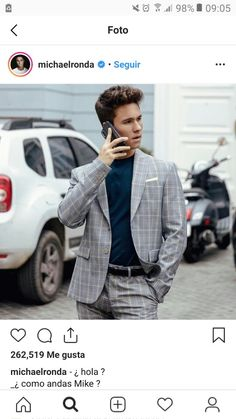 Michael Ronda, 98, Suit Jacket, Breast, Hipster, Suits, Jackets, Style, Fashion