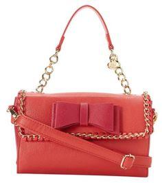 Betsey Johnson Tough Love Mini Satchel Bag, Pink/Red Betsey Johnson http://www.amazon.com/dp/B00GFXHYOQ/ref=cm_sw_r_pi_dp_dXeuwb1BXF7KY