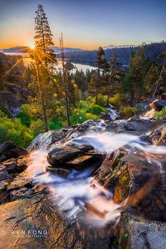Eagle Falls 1.1 (HDR) by Ken Fong ~ Lake Tahoe, California*