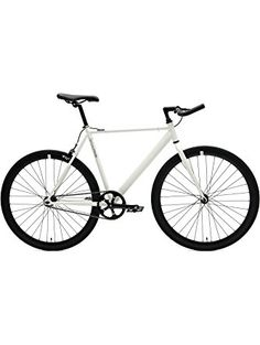 Classic Fixed-Gear Single-Speed Bike with Pursuit Bullhorn Bars cd5355db4
