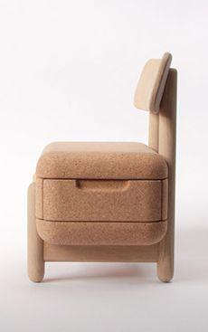 double duty oak oak chair