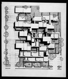 Married Students Housing, Yale University by Paul Rudolph