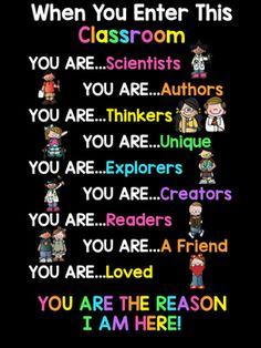 When You Enter This Classroom Featuring Melonheadz - decorationdiyroom. Classroom Welcome, Classroom Rules Poster, Classroom Charts, Classroom Signs, Classroom Quotes, Classroom Bulletin Boards, Classroom Behavior, Classroom Displays, Science Classroom